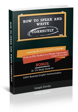how to speak and write correctly by joseph devlin and vivian w lee