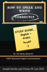 how to speak and write correctly study guide english arabic